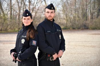 policisté obvodního oddělení